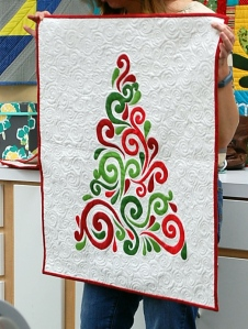 Christmas wall-hanging by Sarah